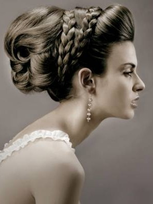 2014 braided hairstyle for wedding