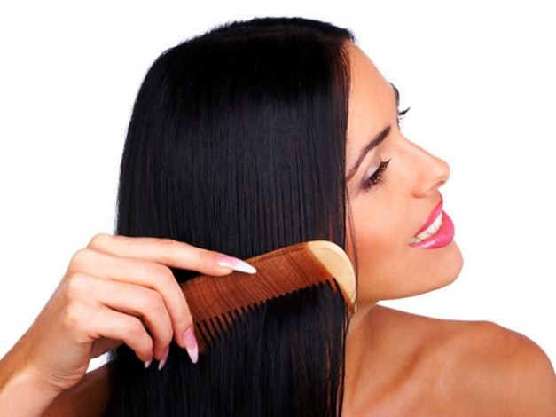 natural recipes for sleek hair