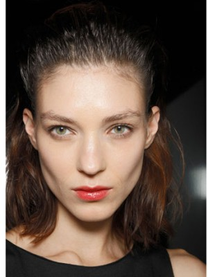 Summer Slicked back Hairstyles 2014