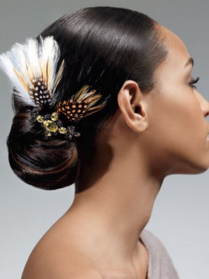 Stylish Wedding Hairstyles For Black Women
