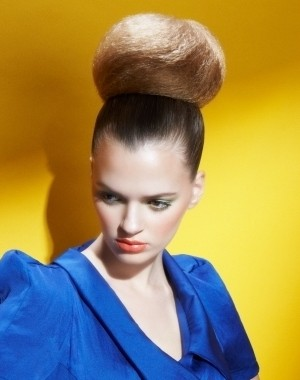 2014 big bun hairstyle
