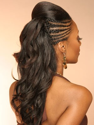 braided hairstyle for black women 2014