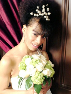 black women wedding hairstyles