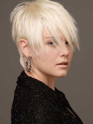Short Bangs Hairstyles 2014