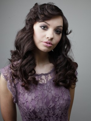 glam long hairstyle 2014