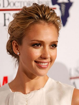 celebrity messy bun hairstyle