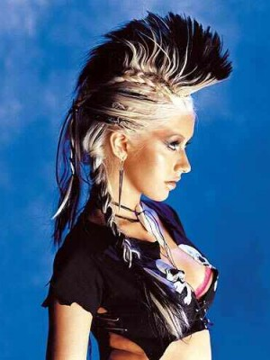 crazy hairstyles 2013