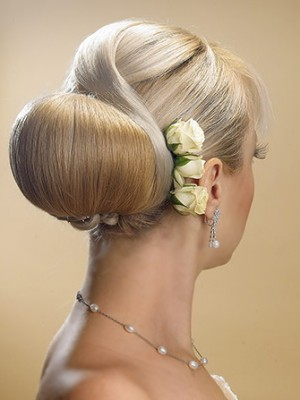 elegant low bun hairstyle