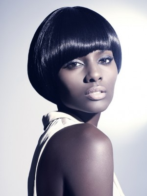 short bob haircut for black women