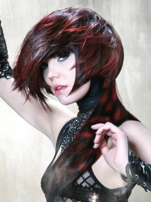 sexy punk hair color 2014