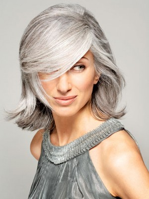 Stylish Silver Hair Color Ideas 2013