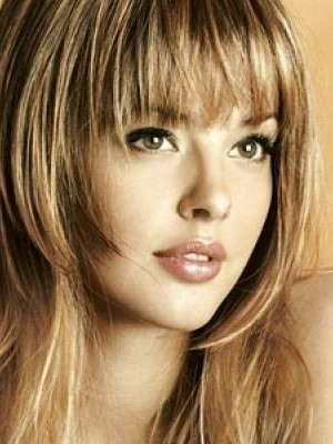 Hairstyles For Round Faces Haircuts Hairstyles And Hair Colors - Hairstyle for round face to look slim