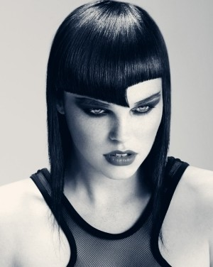 edgy midi hairstyle 2014