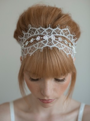 chic bun hairstyle for wedding 2014