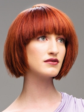 trendy red hair color 2014