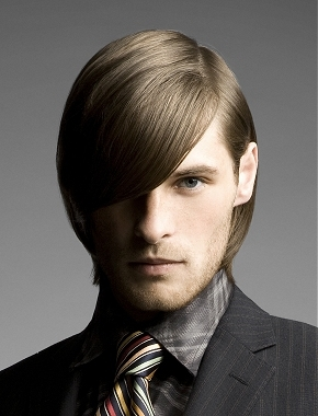 medium sleek men hair 2014