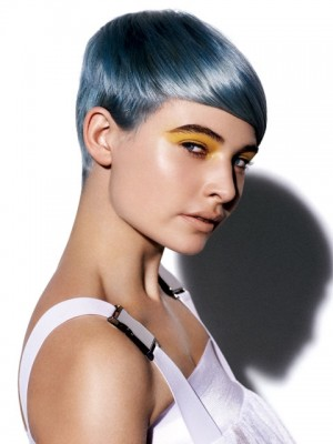 silver color with blue shade