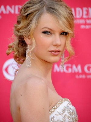 celebrity curly updo hairstyle