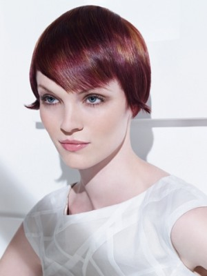 2014 Red short hairstyles