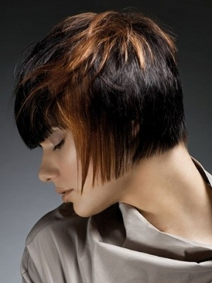 Cropped short haircut 2014