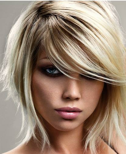 Magnificent Medium Hairstyling Trends For 2014 2017 Haircuts Hairstyles And Short Hairstyles Gunalazisus