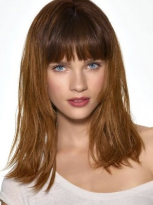 layered hairstyles with bangs 2014