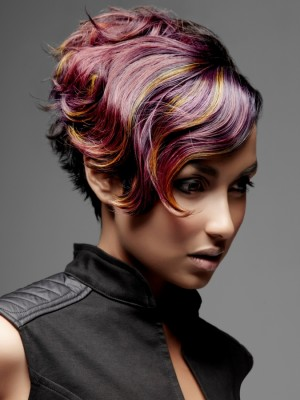 multy tone hair color 2013