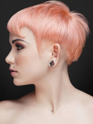 pink hair color idea 2013