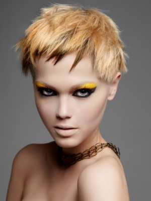 punk blonde hair color 2013
