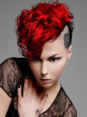 punk red hair color 2013