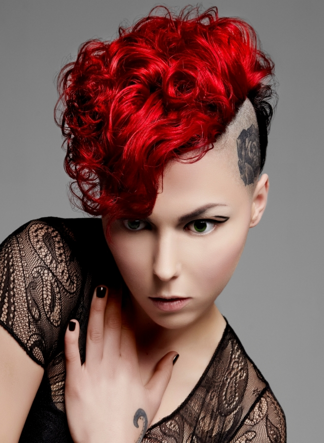 Astounding Punk Girl Hair Colors 2013 2017 Haircuts Hairstyles And Hair Colors Short Hairstyles For Black Women Fulllsitofus