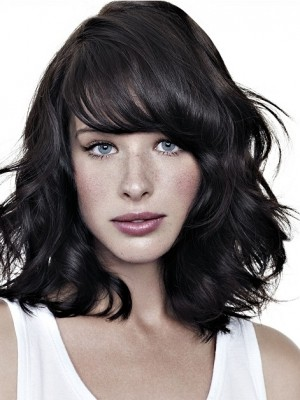 sholder length layered hairstyle 2014