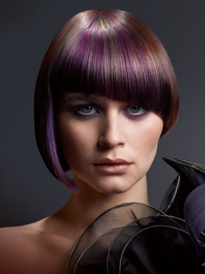 violet hair highlights 2013