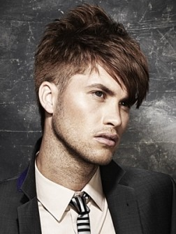 trendy short hairstyle for men
