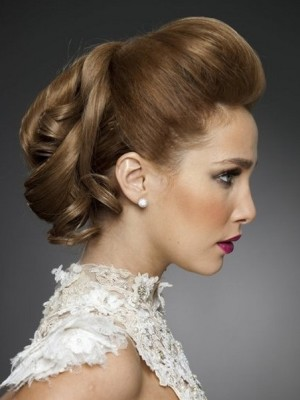 up-do hairstyle for wedding
