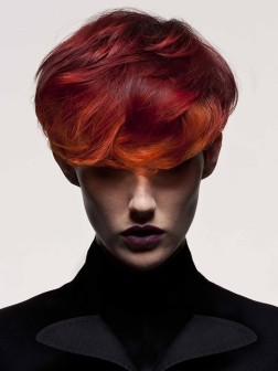 multi red hair color