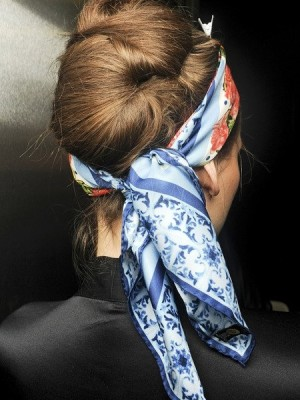 dolce__gabbana twisted up-do