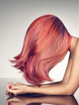 multi pink hair colors