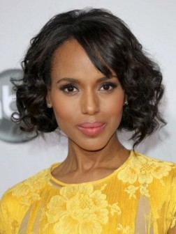 kerry washington faux bob hairstyle