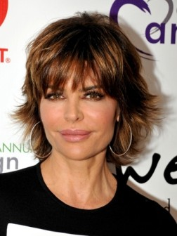 lisa rinna flipped out haircut