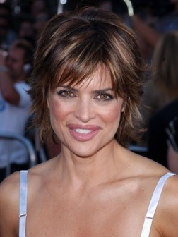 celebrity medium short haircut