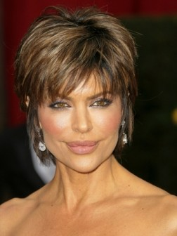 celebrity short haircut