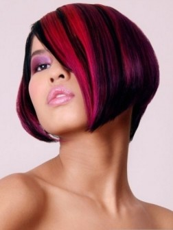 dark pink hair color