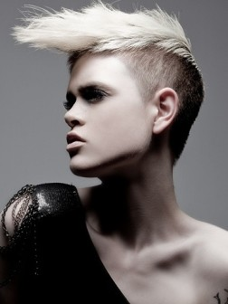 funky short mohawk hairstyles