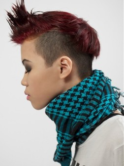 funky short mohawk hairstyles 2013