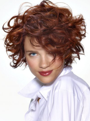Super Curly Short Hairstyles 2014 2017 Haircuts Hairstyles And Hair Hairstyles For Women Draintrainus