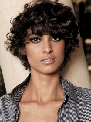 Strange Curly Short Hairstyles 2014 2017 Haircuts Hairstyles And Hair Hairstyle Inspiration Daily Dogsangcom