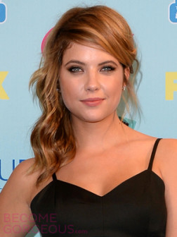 ashley-benson-side-half-updo