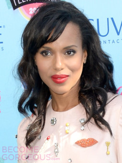 kerry-washington-wavy-hairstyle