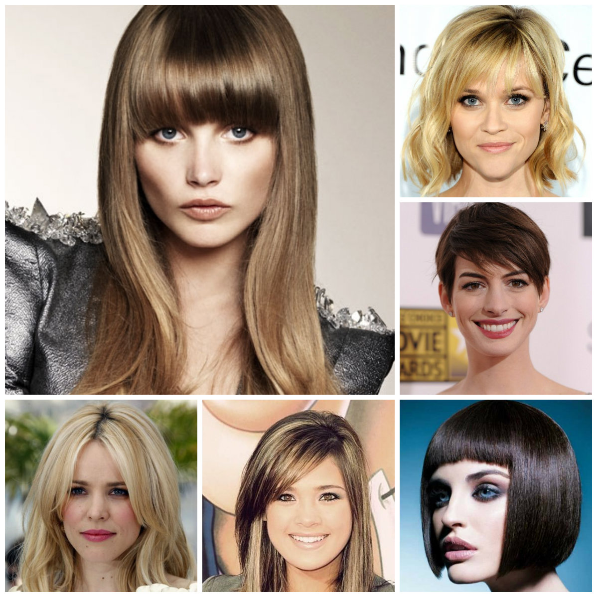bang hairstyles for 2016